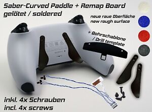 Remap Board | Paddle PS5 | Playstation DualSense Controller | soldered | SET