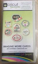 Cricut Art  Cartridge  Designer's Imagine More Cards Provo Craft Neu
