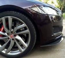 JAGUAR Labbro anteriore Diffusore X260 XF XFR XFR-S Stile Nero Lucido in fibra di carbonio 2015+