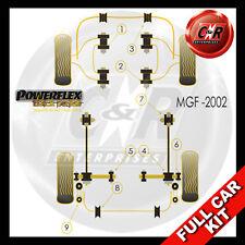 MG MGF (to 02) Powerflex Black Complete Bush Kit