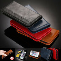 For Samsung Galaxy A40 A50 A70 Magnetic Leather Wallet Flip Case Cover Stand