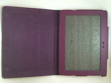 FUNDA CARCASA DE LIBRO PARA TABLET SONY S1 SOSTENIBLE COLOR MORADO