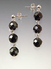 Hematite Sterling Silver Dangle Earrings Clearance Sale - Bess Heitner Cleopatra