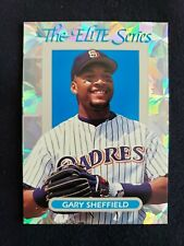 1993 Donruss Elite Series Gary Sheffield 3066/10000 Leaf Baseball