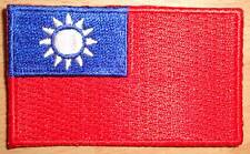 TAIWAN Country Flag Embroidered PATCH