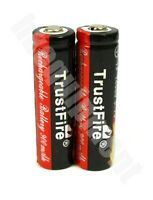 Trustfire 14500 Rechargeable 3.7v Protected Li-ion PCB Battery x2