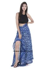Indian Sarong Scarf Cotton Bikini Bath Dress Hand Block Print Pario Cover Up