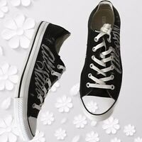 Converse Chuck Taylor All Star Low Top Black Sneakers.  Size 10.5