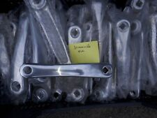 Manivelle gauche pédalier vélo axe carré grise 170mm alu argent neuve