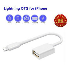 Lightning to USB Camera Connector Adapter Cable OTG For Apple iPhone XR 11 iPad