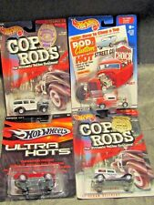 Hot Wheels large cards-32 Sedan Delivery Cobra 427 32 Ford Coupe 40 Woodie
