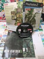 Playstation 2 PS2:Metal Gear Solid 3 - Snake Eater [TOP & EDITION METAL] Fr