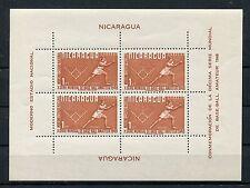 Nicaragua Block 1 postfrisch / Softball ...................................1/142