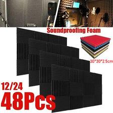 Soundproofing Foam Acoustic Wall Panel Sound Insulation Foam Studio Wall T F~
