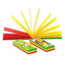 6 booklets Natural Unrefined Reggae Cigarette Rolling Paper Filter Tips 54*18MM