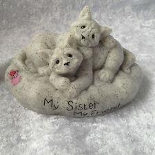 Quarry Critters My Sister , My Friend..Cats Figurine..BNIB