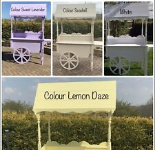 More details for candy cart sweet cart for sale market cart stall display stand street food cart