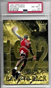 1998 Upper Deck Michael Jordan Gatorade #8  PSA 8.5