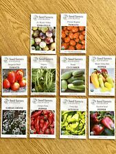 *Unopened lot of Seeds for garden- Seed Savers Exchange 2020