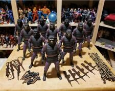NECA PLANET OF THE APES ARMY!  Lot of 10 TRU Exclusive Soldiers Loose w/ Weapons