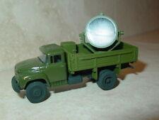 1/87 HO scale Russian ZIL-130 APM-90 Airfield Projector Truck.