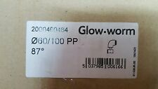 GlowWorm 90 Degree Flue Bend 60/100 PP Glow worm 2000460484