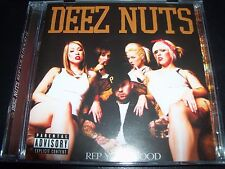 Deez Nuts Rep Your Hood (Stomp Australia) CD EP - Like New