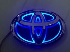 5D LED Car Logo Blue Light for Toyota Rav4 2011 New Reiz Prado Auto Badge Light