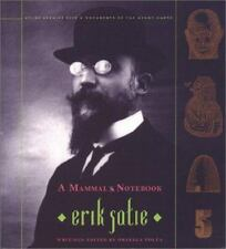 Atlas Arkhive A Mammal's Notebook Collected Writings Erik Satie 5 Ornella Volta