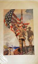 PRE WWI U. S. MARINE CORPS RECRUITING POSTER - SIDNEY RIESENBURG - 1913