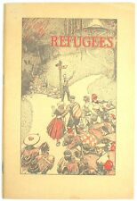 Refugees 1940 booklet Watchtower Rutherford Jehovah NICE!!!
