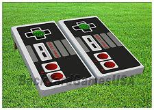 CORNHOLE BEANBAG TOSS GAME w Bags Game Boards Nintendo Set 1102