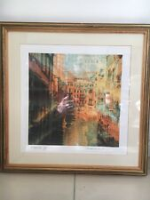 More details for 2 print pictures of venice by gerd weibir. venice i & venice ii