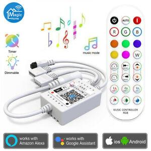 Wifi APP Musik Sync RGB Fernbedienung Controller für LED Stripe Streifen Band