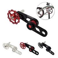 Aluminium Alloy Single Speed Chain Bike Tensioner Replacement CNC Multi-Color