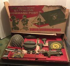 Marine Raider BATTALION COMMAND POST REMCO Toys 1963 VINTAGE MIB NEW IN BOX HUGE