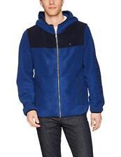 Tommy Hilfiger Mens Hooded Performance Fleece Jacket,...