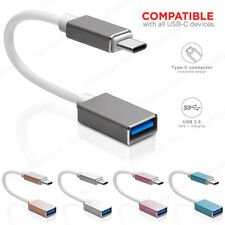 15CM Corto USB 3.1 Tipo C Macho a USB 2.0 a Hembra OTG Cable Adaptador Convertidor