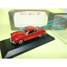 VW KARMANN GHIA COUPE Rouge MINICHAMPS 1:43 contreboite non d'origine