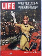 LIFE MAGAZINE Mar 30 1959 * Khrushchev * Alaska * Debbie Reynolds * Easter