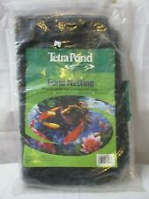 Tetra Pond Netting - 14' by 14' - Protects ponds from leaves and predators