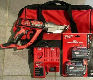Milwaukee 2637-22 M18 Li-Ion Cordless 18-Gauge Single Cut Metal Shear Kit
