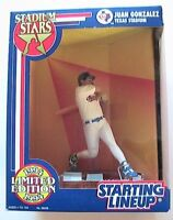 1994 STARTING LINEUP - SLU - MLB - JUAN GONZALEZ - TEXAS RANGERS - STADIUM STARS