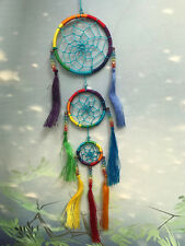 Triple dreamcatcher with gems dream catcher