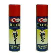 2 Lubricante Engrasador Aceite Bicicleta Tefloil Lubricoil Teflon PFTE 1100 3765