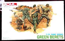 Vtg New Dragon DML GREEN BERETS 1:35  Nam Series 3309 Model Kit