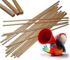50 Holzstäbchen,Holzstäbe,Stäbchen aus Holz für Zuckerwattemaschine,Zuckerwatte