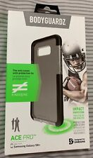 New BodyGuardz Ace Pro Case for Samsung Galaxy S8+ Plus - Clear/Black