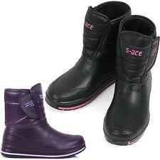 New Womens Waterproof Winter Warm Snow Light Weight Rain Boots Nova