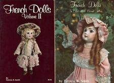 Antique French Bisque Dolls - Makers Types Marks Values /  2-Volume Book